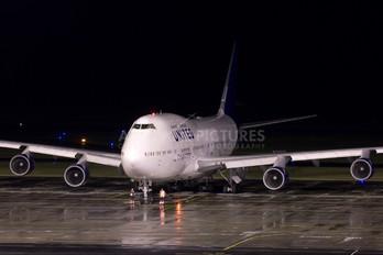 N194UA - United Airlines Boeing 747-400