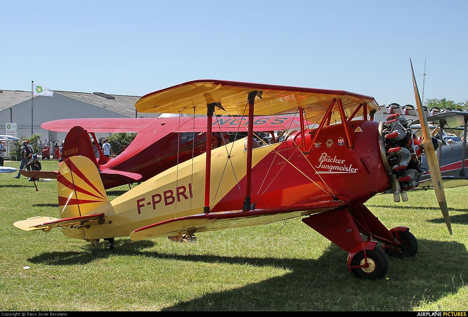 Private F-PBRI aircraft at La Ferté-Alais