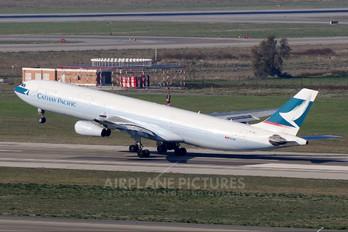 B-HXJ - Cathay Pacific Airbus A340-300