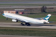 B-HXJ - Cathay Pacific Airbus A340-300 aircraft