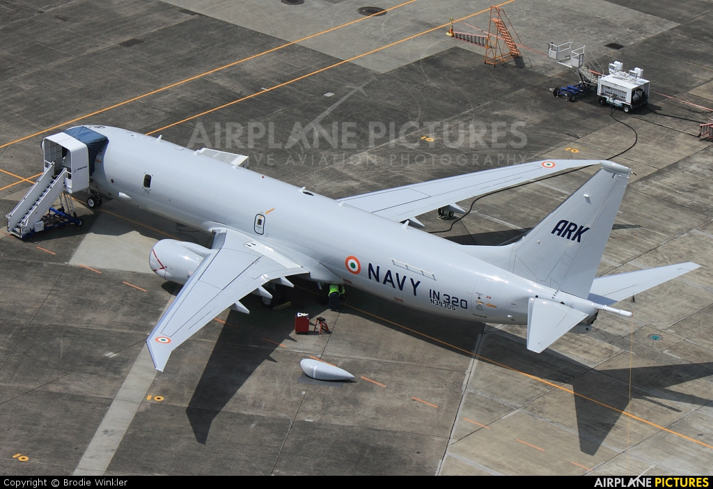 India - Navy N393DS aircraft at Seattle - Boeing Field / King County Intl