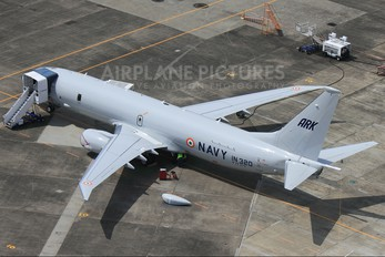 N393DS - India - Navy Boeing P-8I Neptune
