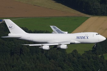 A6-MDG - Midex Airlines Boeing 747-200F