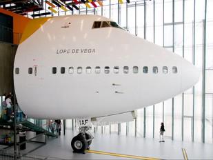 EC-IAF - Iberia Boeing 747-200