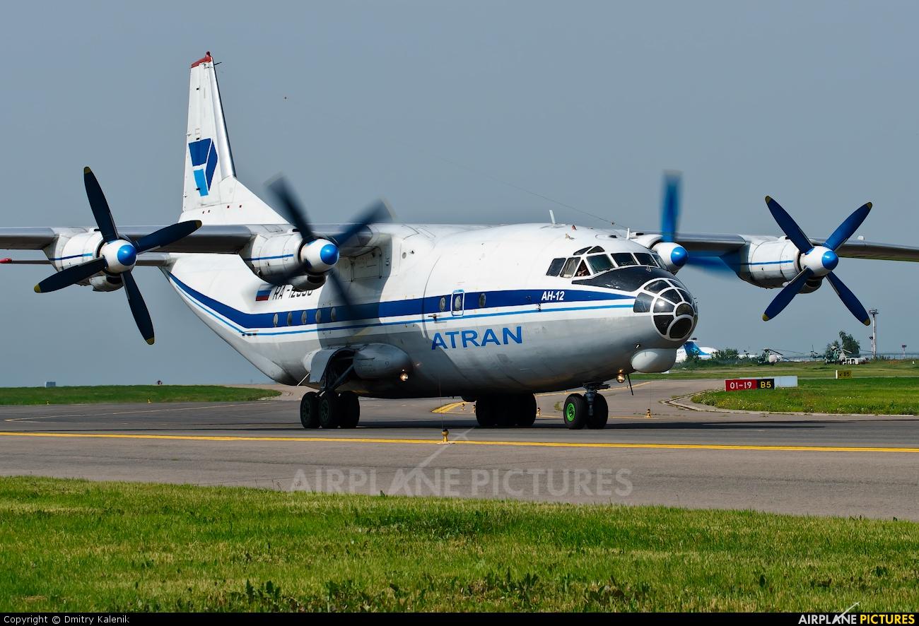 Atran RA-12990 aircraft at Moscow - Vnukovo