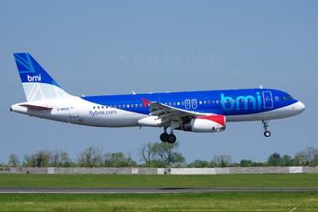G-MEDK - BMI British Midland Airbus A320