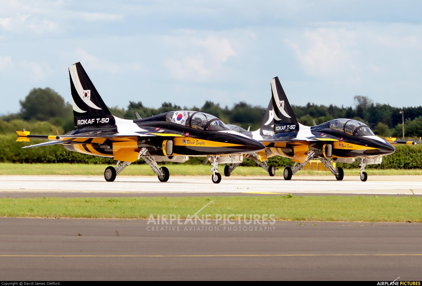 Korea (South) - Air Force: Black Eagles - aircraft at Waddington