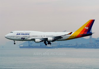 DQ-FJK - Air Pacific Boeing 747-400