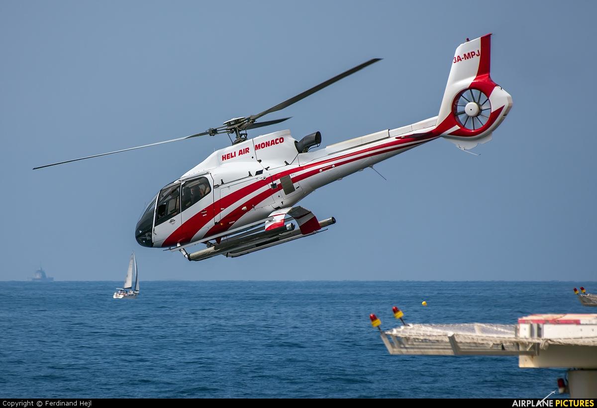 Heli-Air 3A-MPJ aircraft at Monaco