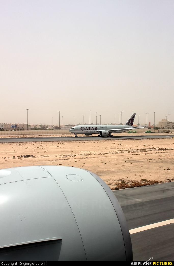 Qatar Airways A7-BAA aircraft at Doha