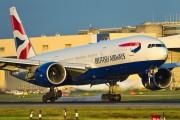 G-RAES - British Airways Boeing 777-200 aircraft
