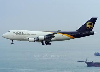 N580UP - UPS - United Parcel Service Boeing 747-400F, ERF