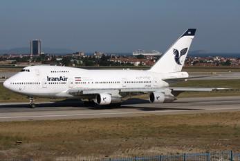 EP-IAB - Iran Air Boeing 747SP