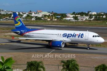 N608NK - Spirit Airlines Airbus A320