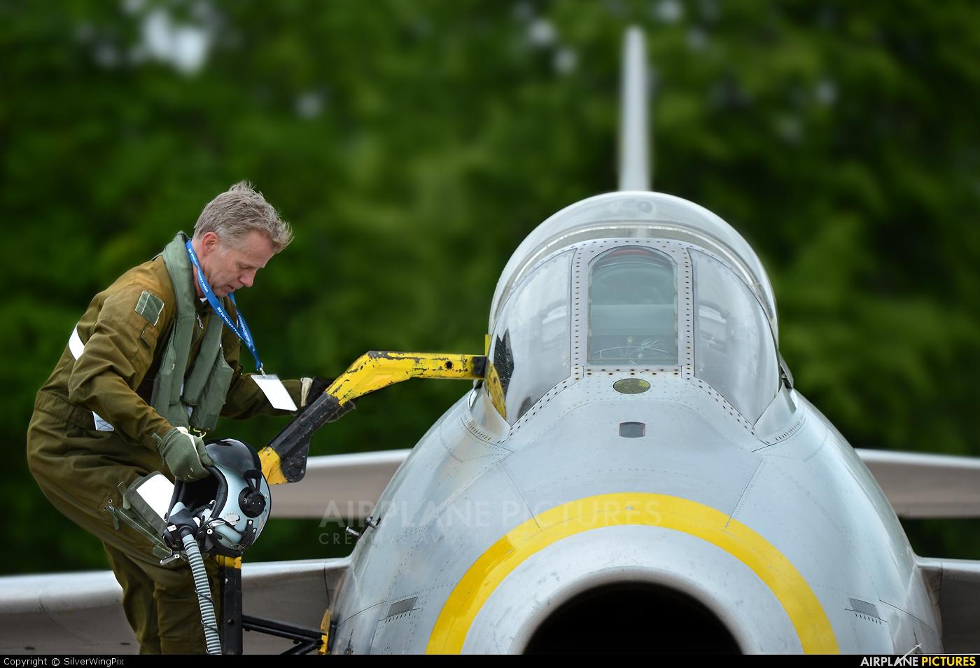 Swedish Air Force Historic Flight SE-DXB aircraft at Malmen