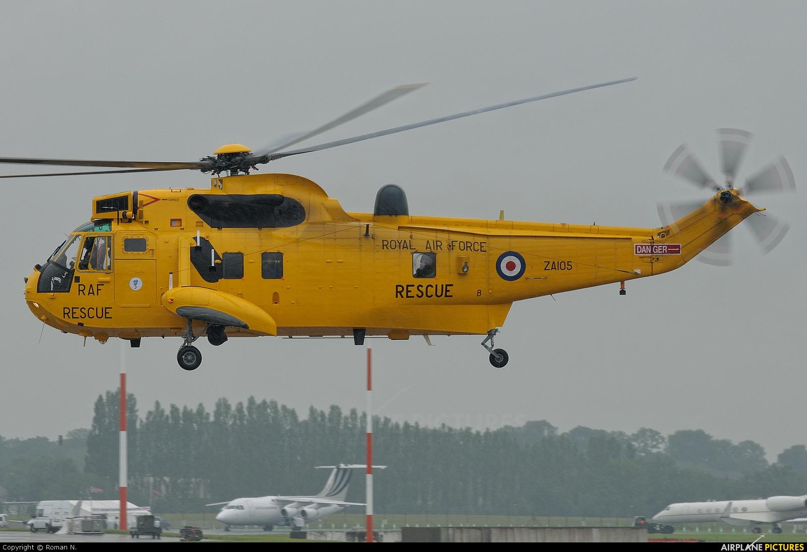 Royal Air Force ZA105 aircraft at Fairford