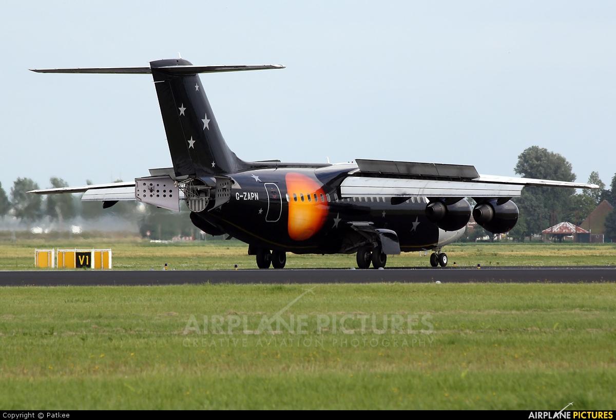 Titan Airways G-ZAPN aircraft at Amsterdam - Schiphol