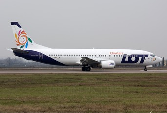 SP-LLK - LOT Charters Boeing 737-400