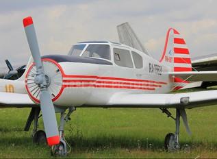 RA-29831 - DOSAAF / ROSTO Yakovlev Yak-18T