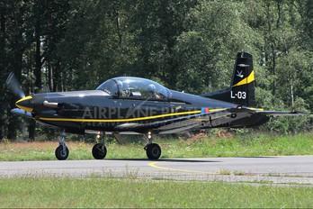L-03 - Netherlands - Air Force Pilatus PC-7 I & II