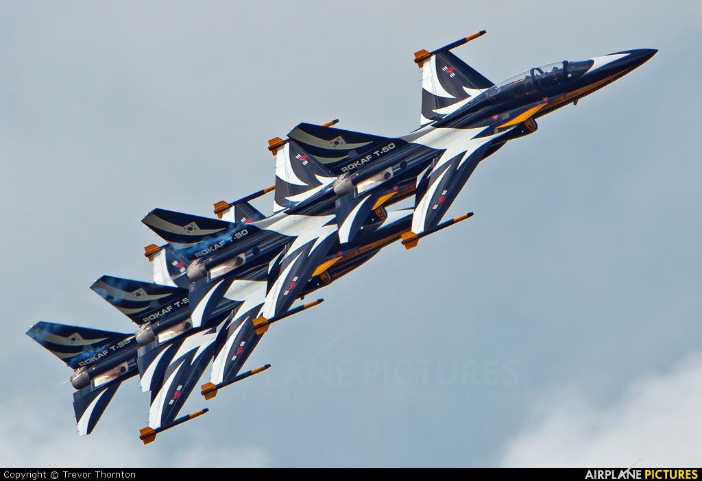 Korea (South) - Air Force: Black Eagles - aircraft at Fairford
