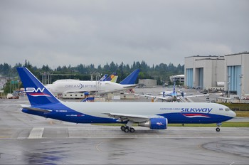 4K-SW880 - Silk Way Airlines Boeing 767-300F