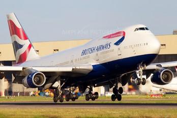 G-CIVG - British Airways Boeing 747-400