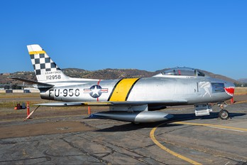 51-12958 - USA - Air Force North American F-86 Sabre