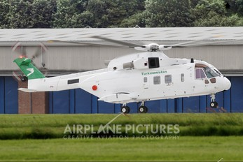 ZR337 - Turkmenistan - Government Agusta Westland AW101 643 Merlin (Turkmenistan)