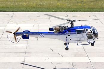 106 - Romania - Police Sud Aviation SA-316 Alouette III