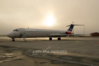 LN-RMM - SAS - Scandinavian Airlines McDonnell Douglas MD-82