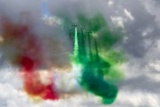 "- - Italy - Air Force ""Frecce Tricolori"" Aermacchi MB-339-A/PAN aircraft"