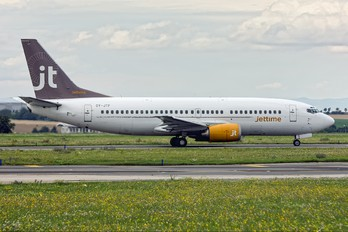 OY-JTF - Jet Time Boeing 737-300QC