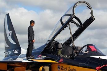 10-0054 - Korea (South) - Air Force: Black Eagles Korean Aerospace T-50 Golden Eagle