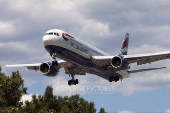G-BNWV - British Airways Boeing 767-300