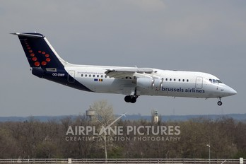 OO-DWF - Brussels Airlines British Aerospace BAe 146-300/Avro RJ100