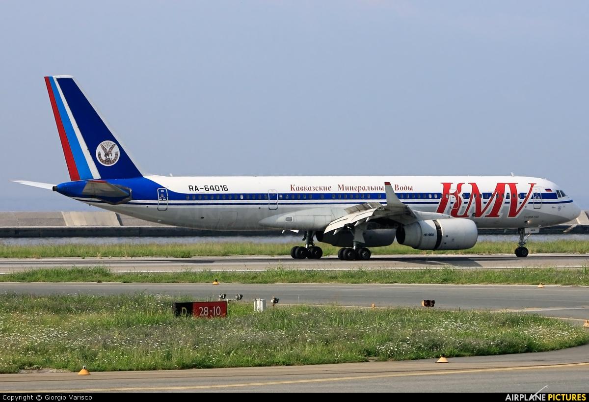 KMV RA-64016 aircraft at Genoa - Sestri