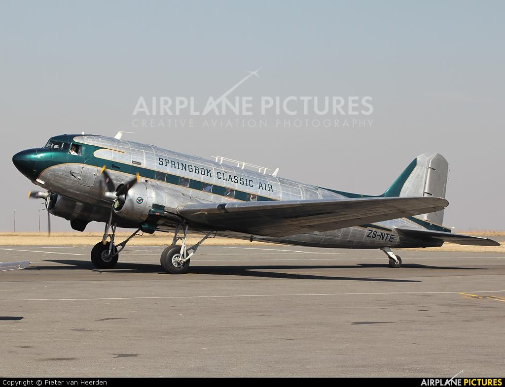 Private ZS-NTE aircraft at Johannesburg - Rand