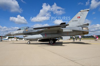 89-0022 - Turkey - Air Force General Dynamics F-16C Fighting Falcon