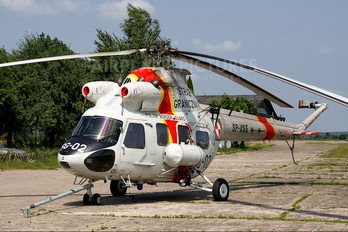 SP-VSG - Poland - Polish Border Guard PZL Kania