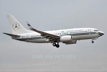 5N-FGT - Nigeria - Air Force Boeing 737-700 BBJ