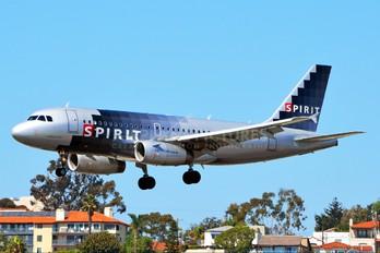 N53INK - Spirit Airlines Airbus A319