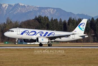 S5-AAS - Adria Airways Airbus A320