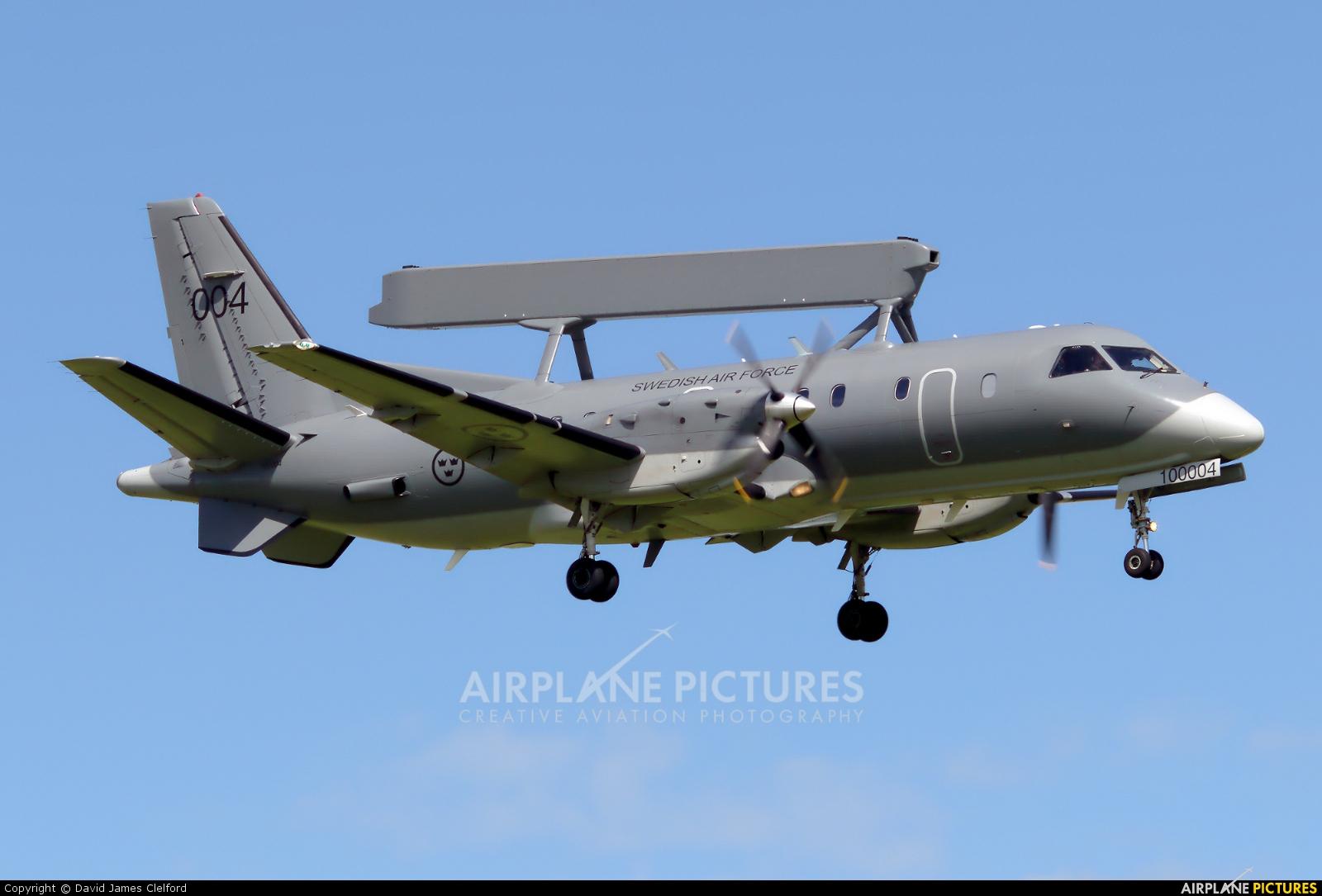 Sweden - Air Force 100004 aircraft at Waddington