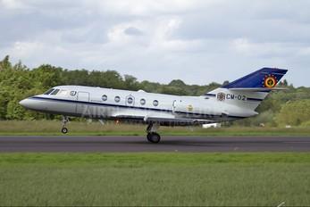 CM-02 - Belgium - Air Force Dassault Falcon 20E Mystère