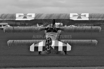 G-CDXR - Private Fokker DR1 Triplane