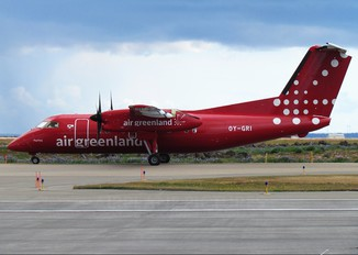 OY-GRI - Air Greenland de Havilland Canada DHC-8-100 Dash 8