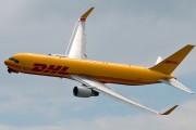 G-DHLF - DHL Cargo Boeing 767-300F aircraft