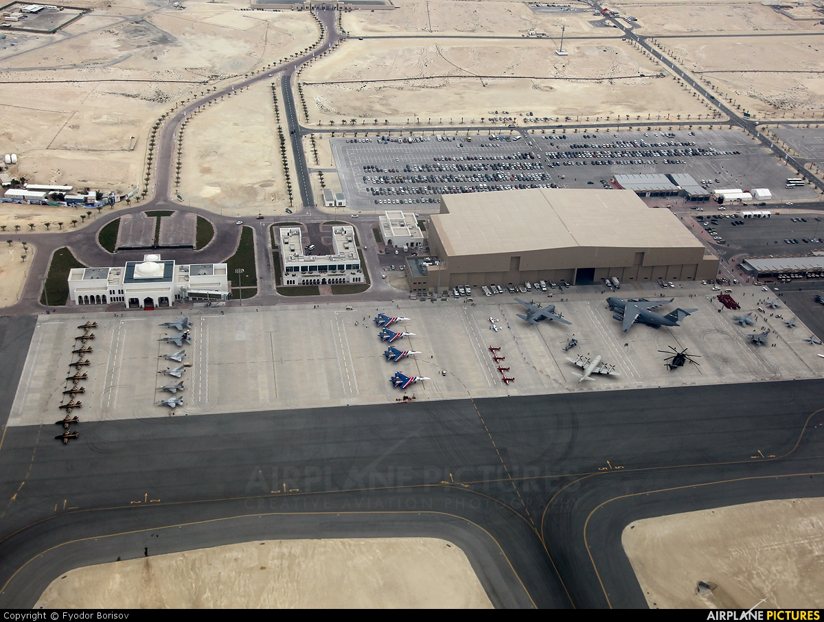 - Airport Overview - aircraft at Sakhir