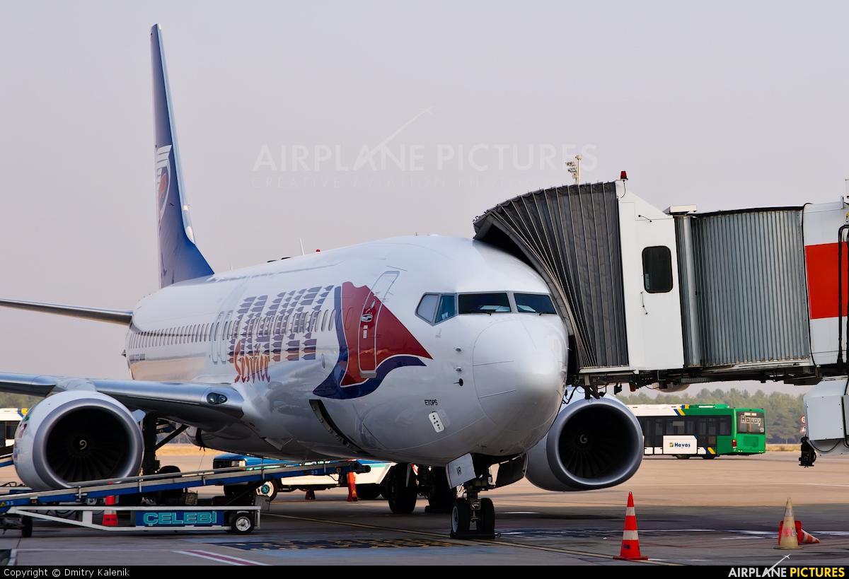 Travel Service OM-TVR aircraft at Antalya